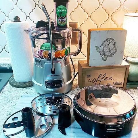 Hamilton Beach 8 Cup-Stack & Snack Food Processor