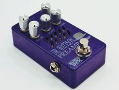 Violet Sparkle Enclosure with Silver Kno