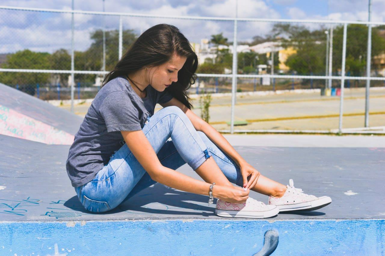 """""""All Star: o tênis que você não tira dos pés."""" Foto: Carolina de Lira/ Coletivo F8"""