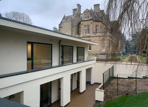 Great Progress at Freeland House, Oxfordshire