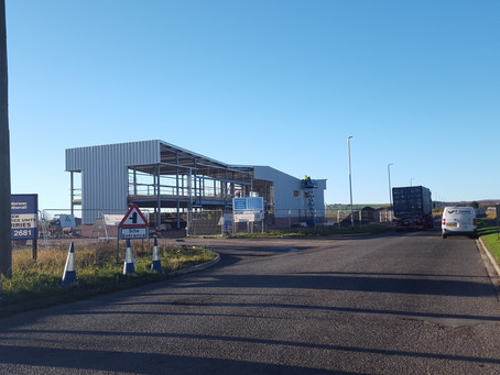 UPDATE - Hownsgill: Cladding Nearing Completion