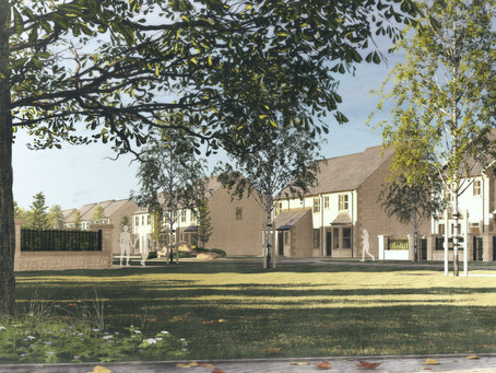 58 Family and Luxury Homes Approved for the Village of Longframlington, Northumberland