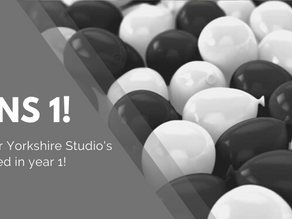 OUR YORKSHIRE STUDIO CELEBRATES TURNING 1!