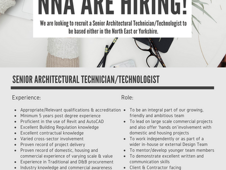 We're hiring!!! Join the NNA-Team…