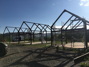 Holiday Homes In Tebay Under Construction!