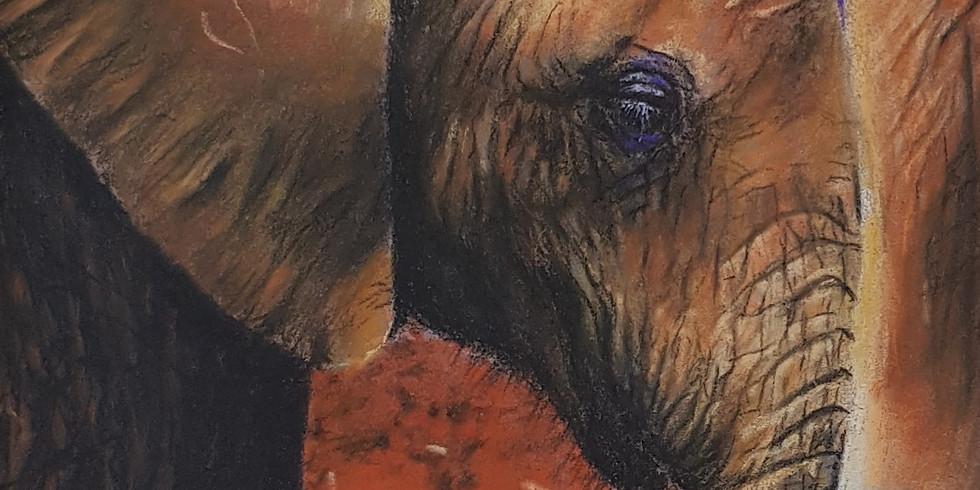 Open atelier inhaalles Baby elephant