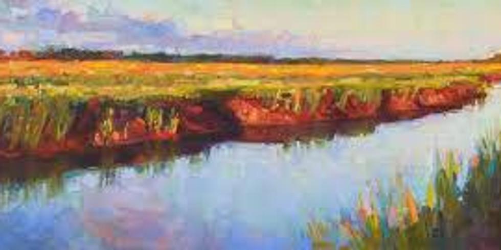Painterly Landscape 2021