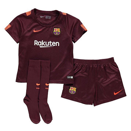 Nike Barcelona Third Mini Kit 2017 2018 Infant Boys