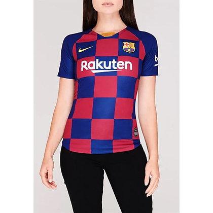 חולצת כדורגל ברצלונה נשים   19/20 בית - giantballs.co.il
