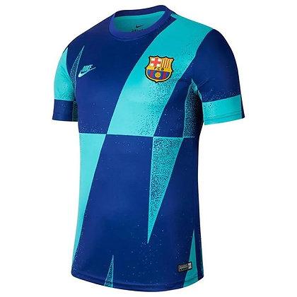 חולצת טרום התאמה של ברצלונה 2019 2020 - giantballs.co.il