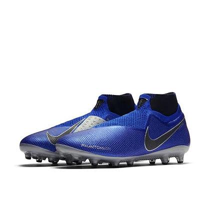 נעלי כדורגל לדשא סינטטי מקצועיות של נייק בצבע כחול - giantballs.co.il