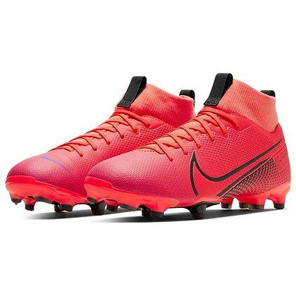 נעלי כדורגל חצי מקצועיות נייק נוער | Mercurial Superfly Academy DF Junior FG