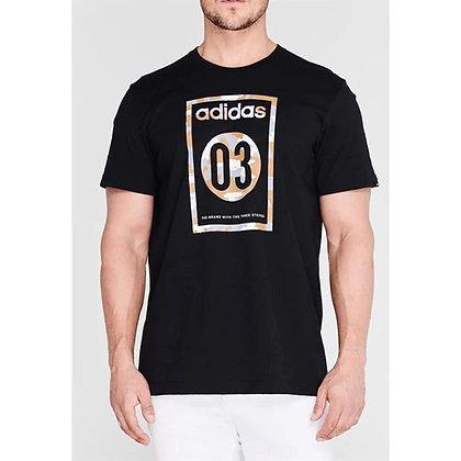 חולצת אדידס | Camo T Shirt Mens - giamtballs.co.il