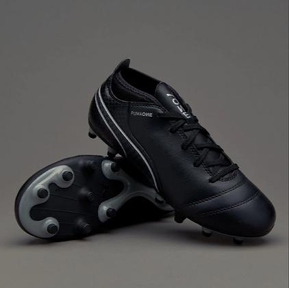 נעלי פקקים של פומה בצבע שחור במבצע - giantballs.co.il