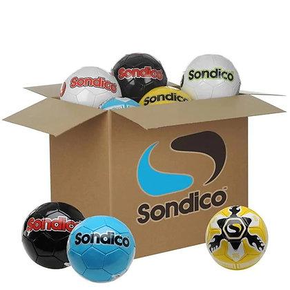 קרטון 28 כדורי רגל סונדיקו אימונים   Box of 28 Footballs
