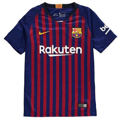 Nike Barcelona Home Shirt 2018 2019 Junior