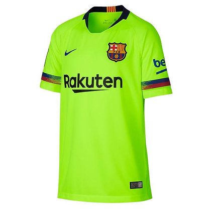 Nike Barcelona Away Shirt 2018 2019 Junior
