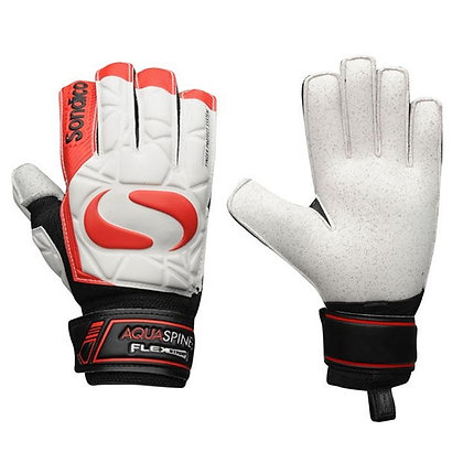 כפפות שוער סונדיקו נוער | AquaSpine Goalkeeper Gloves - giantballs.co.il