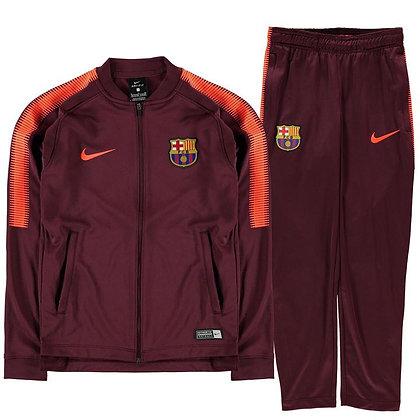 סט חולצה ומכנס ברצלונה   Nike FC Barcelona Squad Tracksuit Junior Boys
