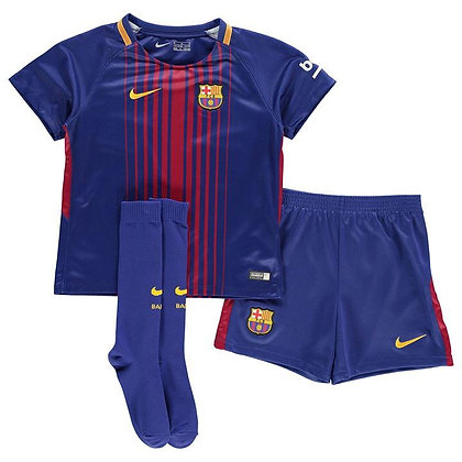 Nike Barcelona Home Mini Kit 2017 2018