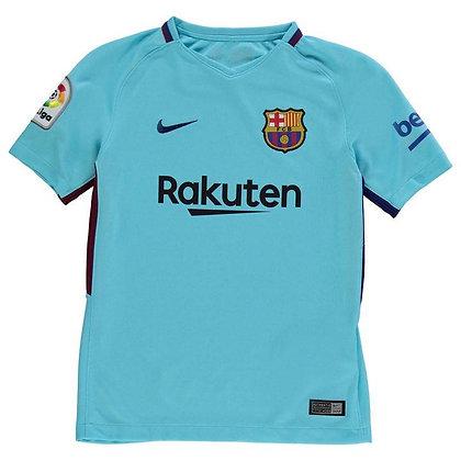 חולצת חוץ ברצלונה שנים 17-18 | Nike Barcelona Away Shirt 2017 2018 Junior