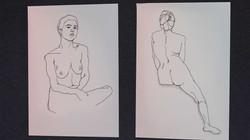 Life Drawing | Pen