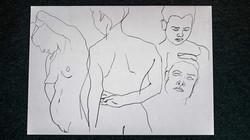 Life Drawing | Pen & Marker
