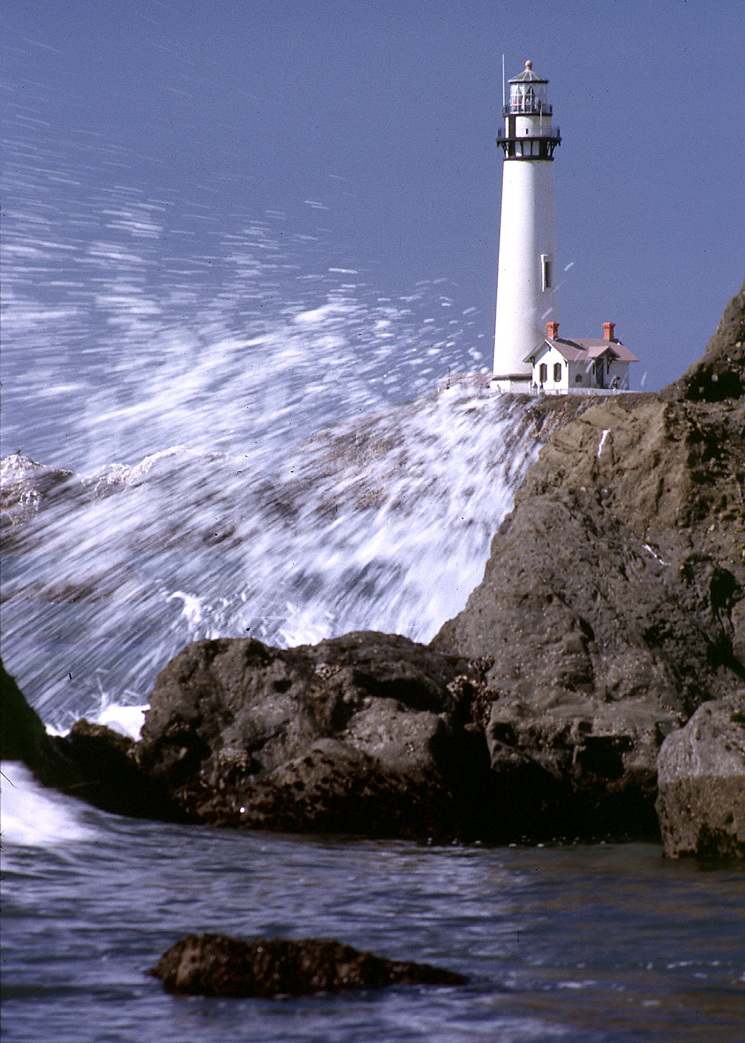 Big Splash at Lighthouse