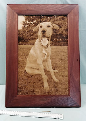 Custom Jarrah Frame to suit artwork. From only $100