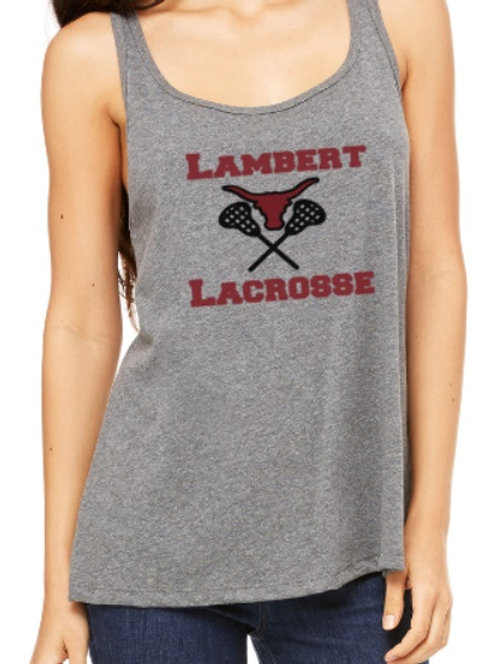 Ladies Relaxed Jersey Lacrosse Tank