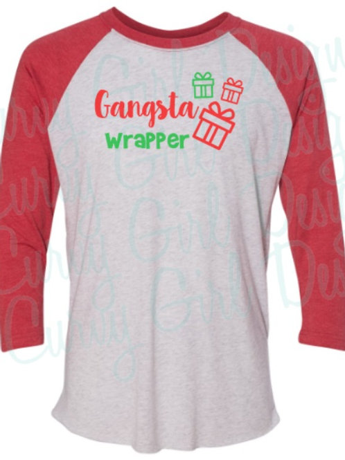 Gangsta Wrapper Soft Raglan