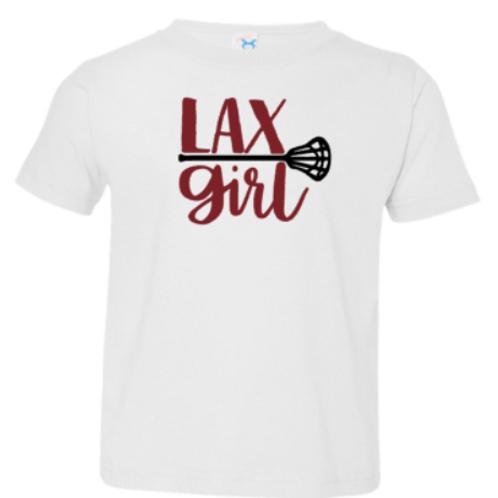 Toddler Lambert Lax Girl Shirt