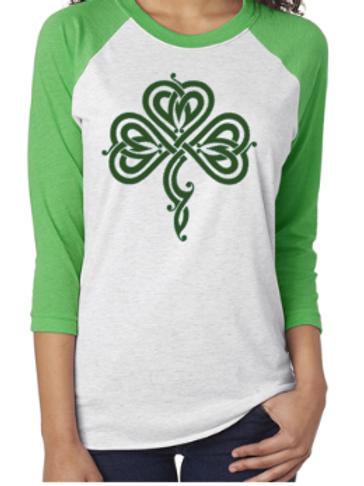 Irish Clover Raglan
