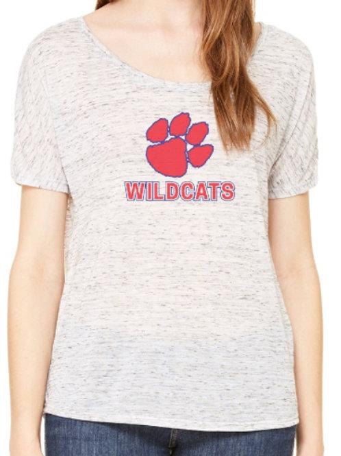 Dunwoody Wildcats Scoop Ladies Shirt