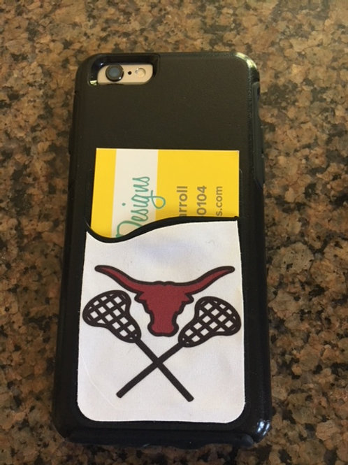 Lambert Lacrosse Card Caddy Phone Wallet