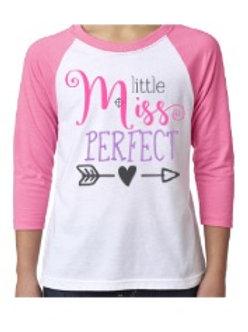 Little Miss Perfect Raglan