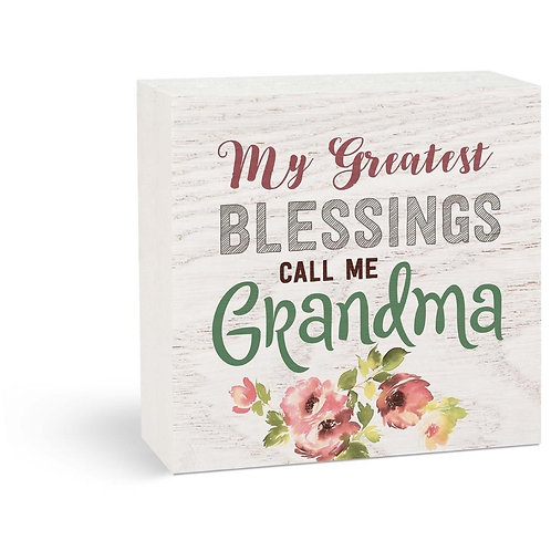 My Greatest Blessings Call me Grandma