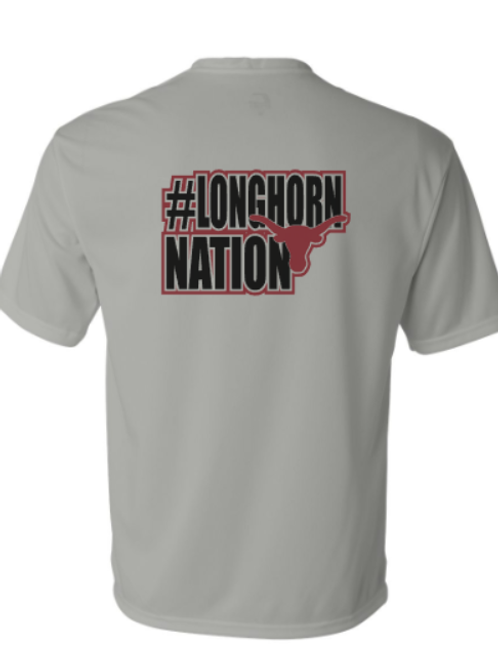 Youth Longhorn Nation Dri Fit Shirt