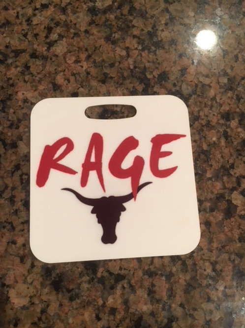 Customized Atlanta Rage Bag Tag