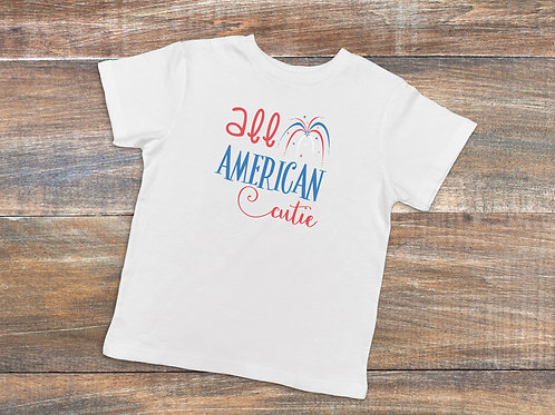 All American Cutie Youth Shirt