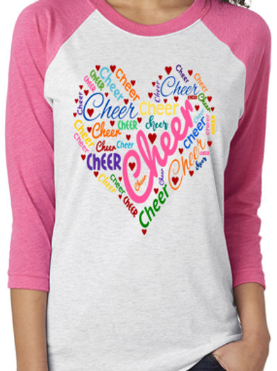 Cheer Words Raglan