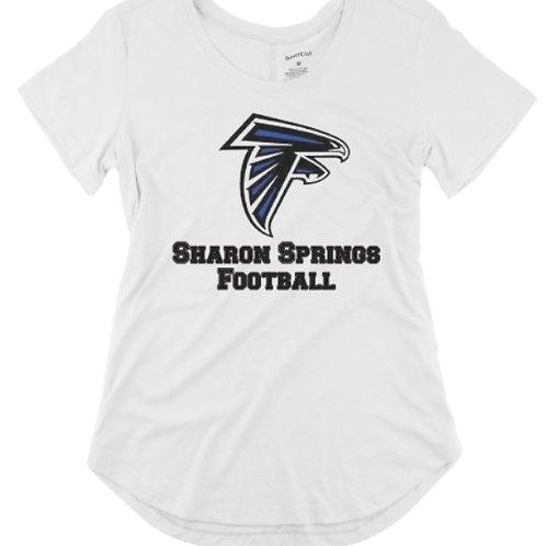 Sharon Springs Football Ladies Scoop Shirt