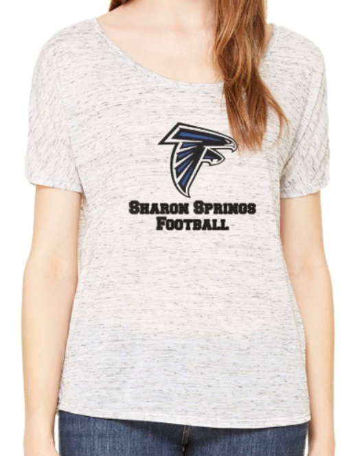 Sharon Springs Football Ladies Flowy Shirt