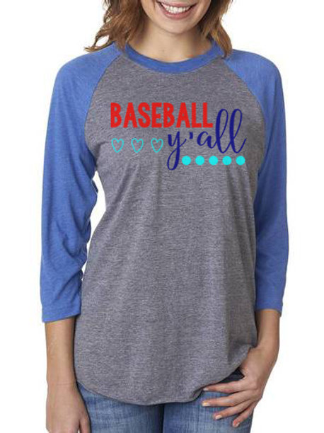 Baseball Ya'll Raglan
