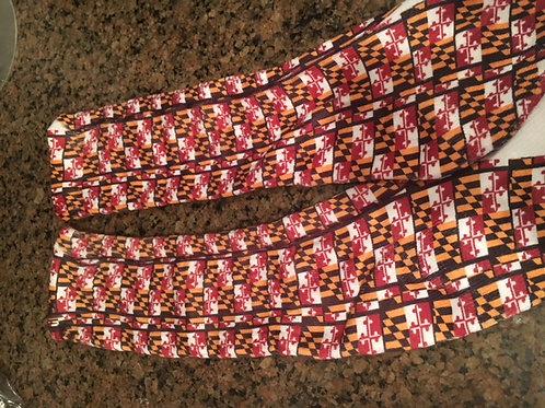 Adult Maryland Flag Lacrosse Socks