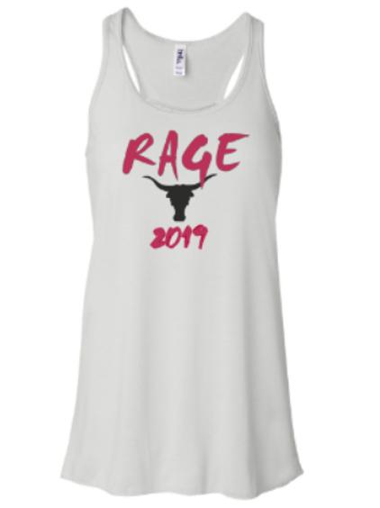 Rage 2019 Flowy Racerback Tank