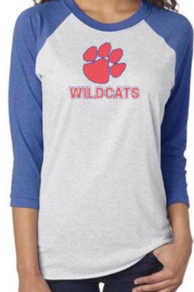 Dunwoody Wildcats Soft Raglan