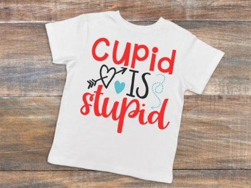 Cupid is Stupid Youth Shirt