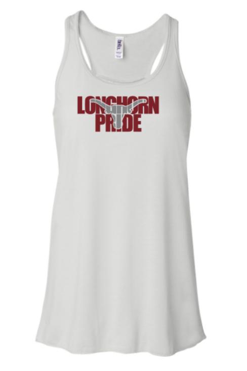 Longhorn Pride Flowy Tank