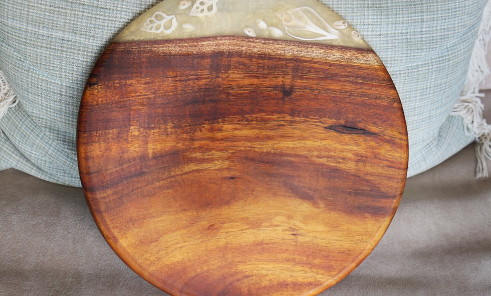 Koa & Shell serving board